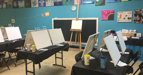 Paint Night for Adults and Kids!