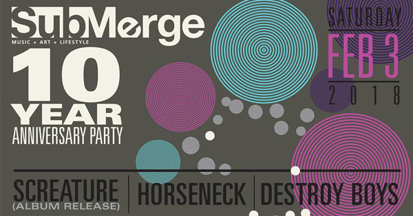 Submerge Mag's 10 Year Anniversary Party!