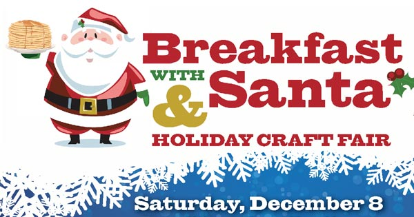 Breakfast with Santa & Holiday Craft Fair