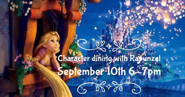 Character Dining With Rapunzel