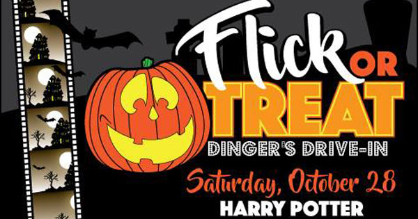 Dinger's Drive-In: Flick Or Treat