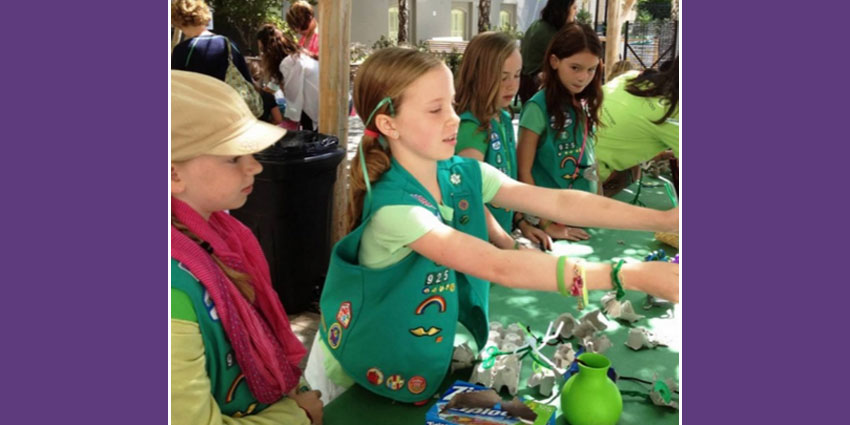 Girl Scout Art Badge Workshop