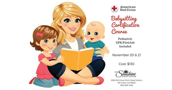 American Red Cross Babysitting Certification CPR and First Aid