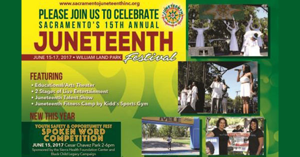 Sacramento's 15th annual Juneteenth Celebration