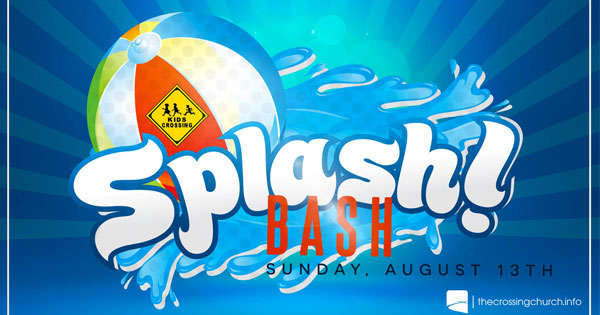 Kids Crossing Splash Bash