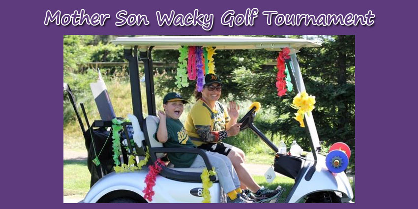 Mother Son Wacky Golf Tournament