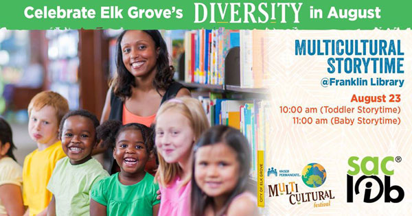 Diversity Month: Multicultural Storytime