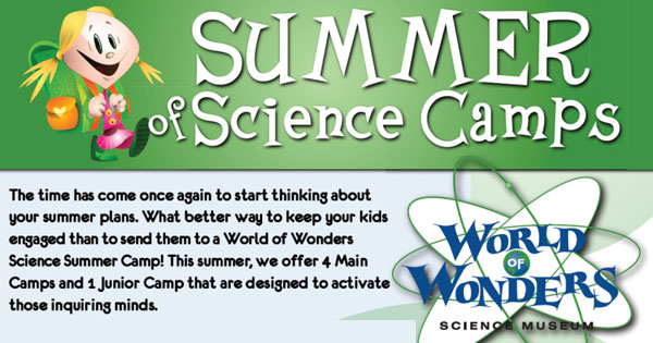 Summer of Science Camps