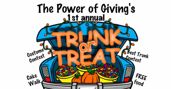 The Power of Giving's 1st Annual Trunk or Treat