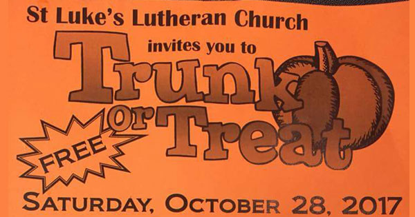 Trunk or Treat - St. Luke's Lutheran Church