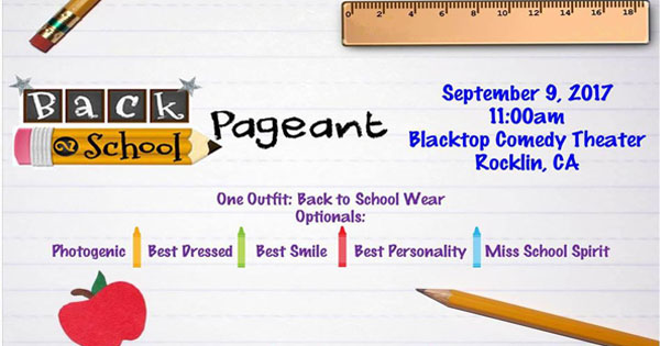 Back to School Pageant