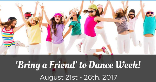 Bring a Friend to Dance Week