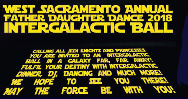 West Sacramento Annual Father Daughter Dance 2018