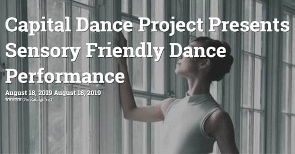 Sensory Friendly Dance Performances