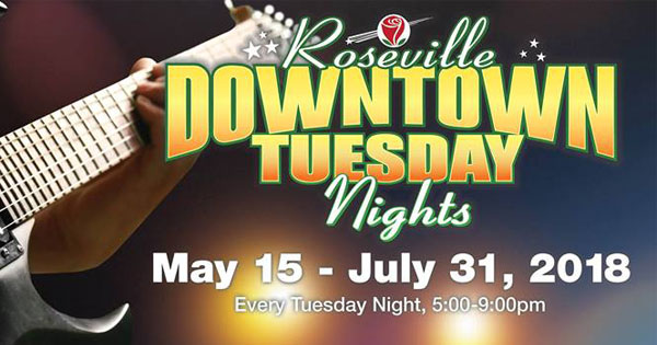 Roseville Downtown Tuesday Nights