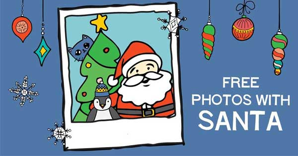 Free Photos with Santa - Elk Grove