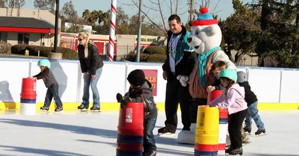 Outdoor Ice Rink in Roseville
