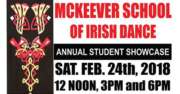 McKeever School of Irish Dance Noon Student Showcase